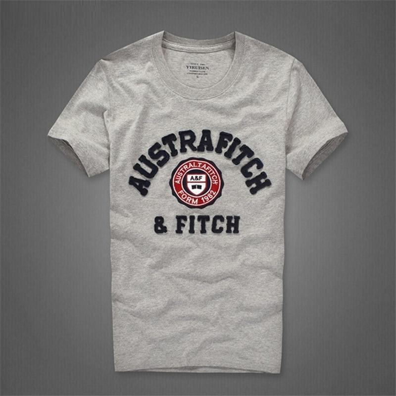Camiseta t-shirt katoenen O-hals brief man merk - Herenkleding - Foto 6