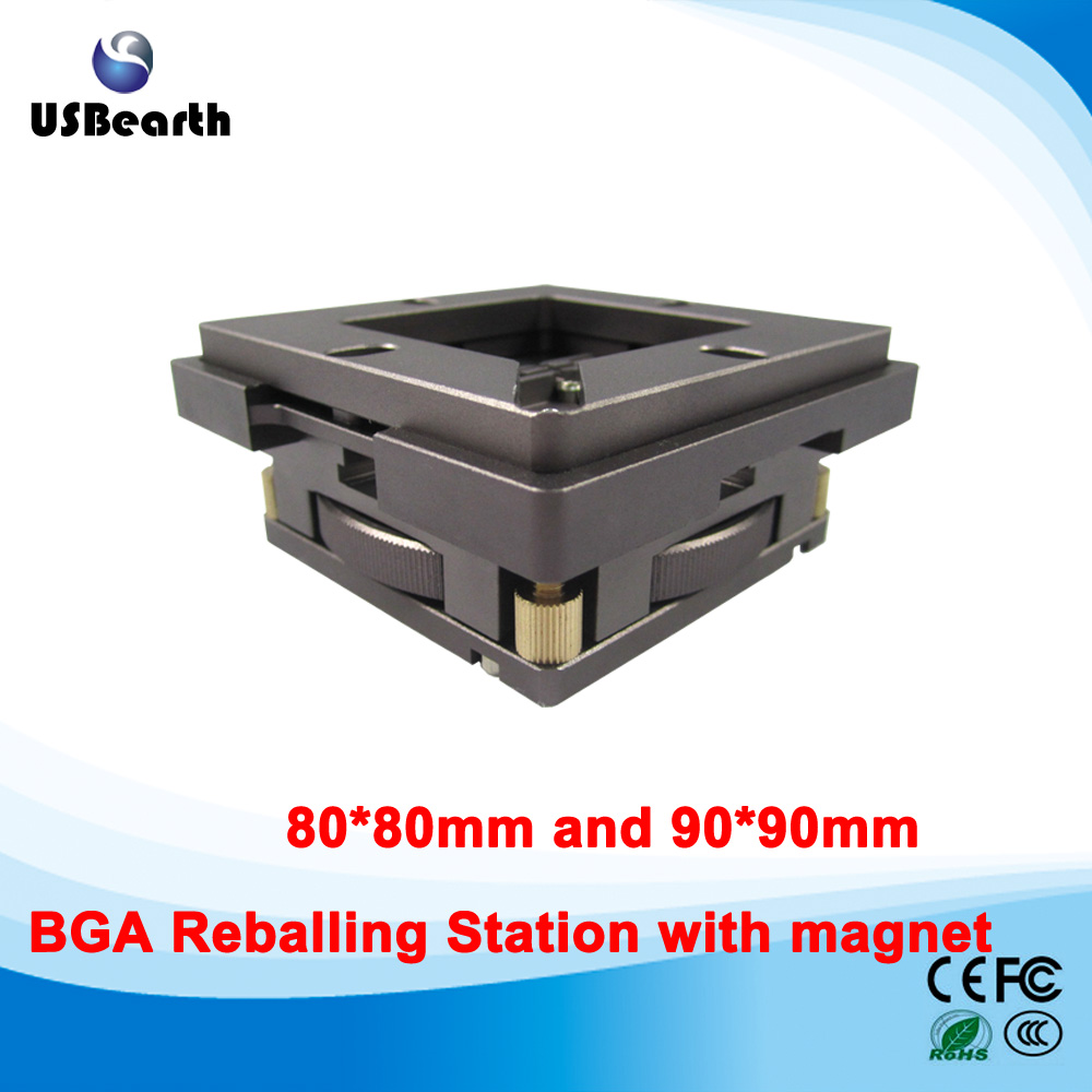 80mm/ 90mm BGA Reballing Station with magnet, auto adjust, the best reballing station ангельские глазки 80 mm