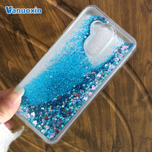 Vanuoxin For case Huawei Honor 6A case For Huawei Honor 6A case cover Coque Dynamic Glitter Liquid Silicone Soft TPU Phone cases