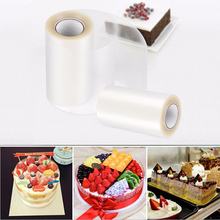 Mousse Cake Tools Wrapping Tape Collar Roll Packaging 10M Surrounding Edge Transparent Clear Baking Accessories