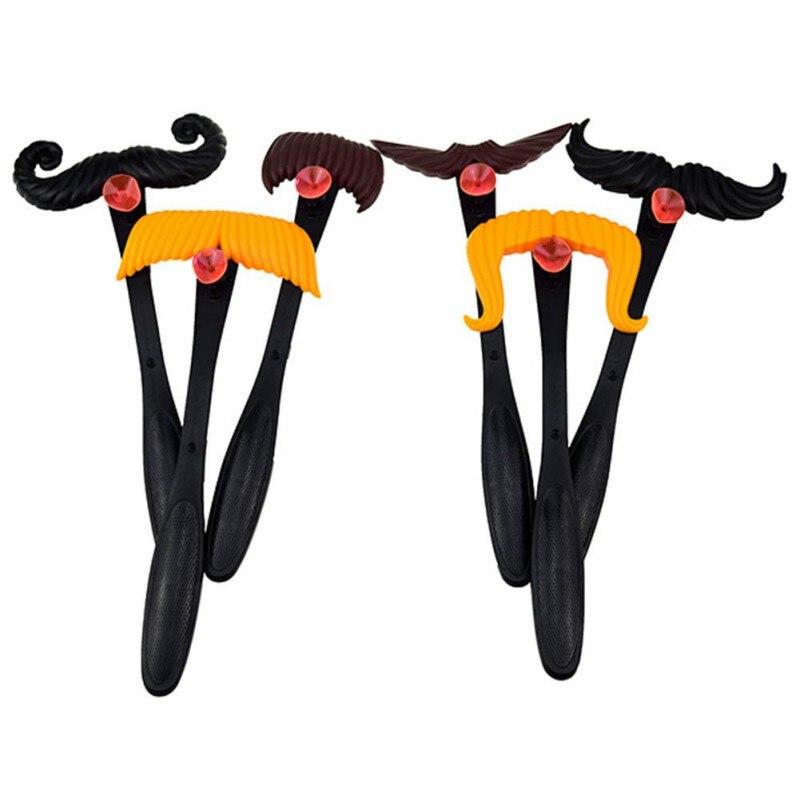 Kids Boy Girl Moustaches Match Moustache Smash Funny Mustache Pass Card Children Family Game font b