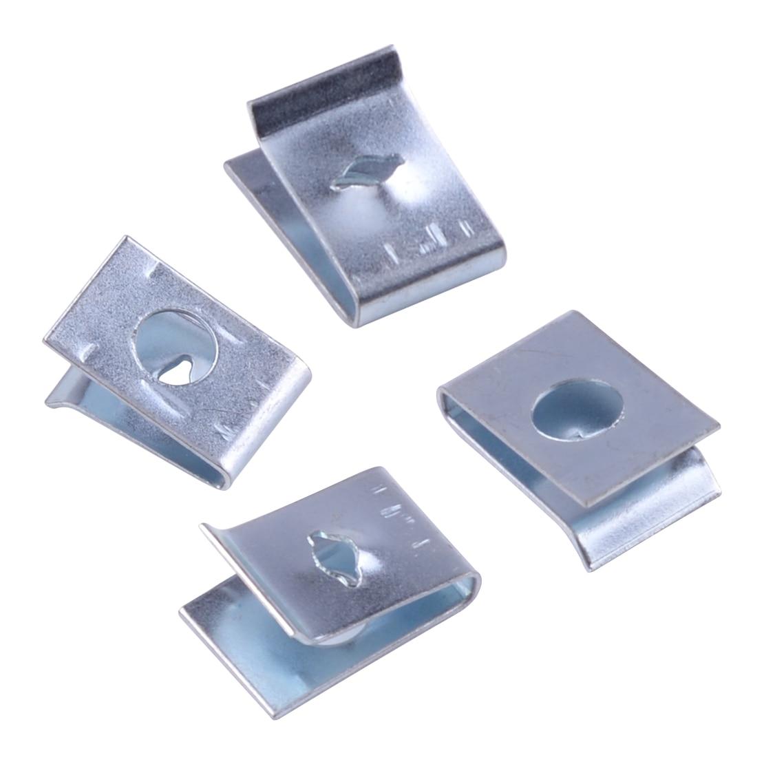 100 x Speed Fastener U Nuts Interior Trim Panel Self Tapping Screw Spire Clips No 14
