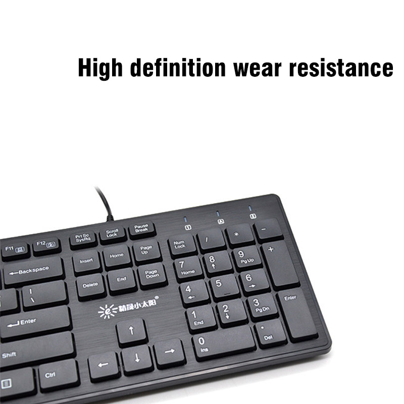 US $12 99 25% OFF Fashion Mini Wired Keyboard Wired PC Game Keyboard Laptop  Keyboard for PC Mac Laptop PS3 PS4 Win 10 7-in Keyboards from Computer &
