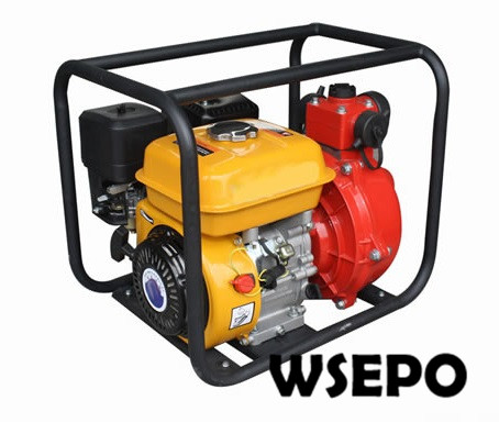 Factory Direct Supply! 1.5 in./2 in. Portable Aluminum Firefighting Water Pump Powered by WSE 170F 7HP 212CC Gasline Engine