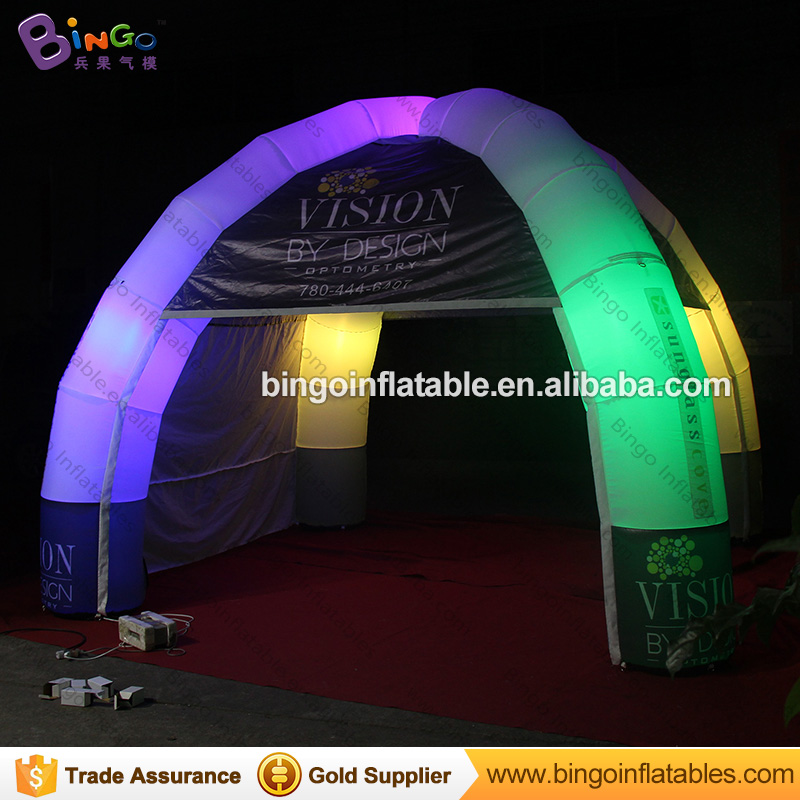Hot selling Inflatable Dome Tent Marquee Tents Indian Tent for Kids N Adults with Color Changing Llights Tents China ao058m 2m hot selling inflatable advertising helium balloon ball pvc helium balioon inflatable sphere sky balloon for sale