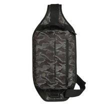 cai Women Men Military Bag Unisex Shoulder Bags Waterproof Nylon Camouflage Packs Man Chest Waist Fanny