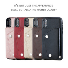Cong fee Multifunctional Flip Leather Wallet phone case for iPhone XR XS max
