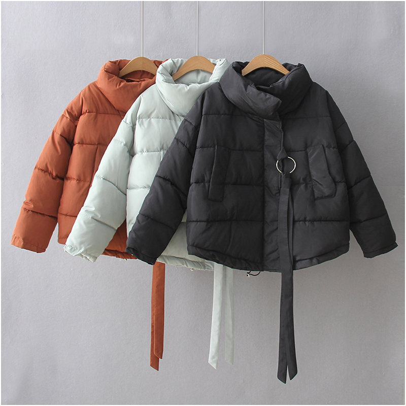 где купить NYMPH 2017 Fashion Women Winter Coats Casual Cotton Jacket Full Sleeve Warm Thickened Cotton Padded Female Jacket Outwear Parkas по лучшей цене