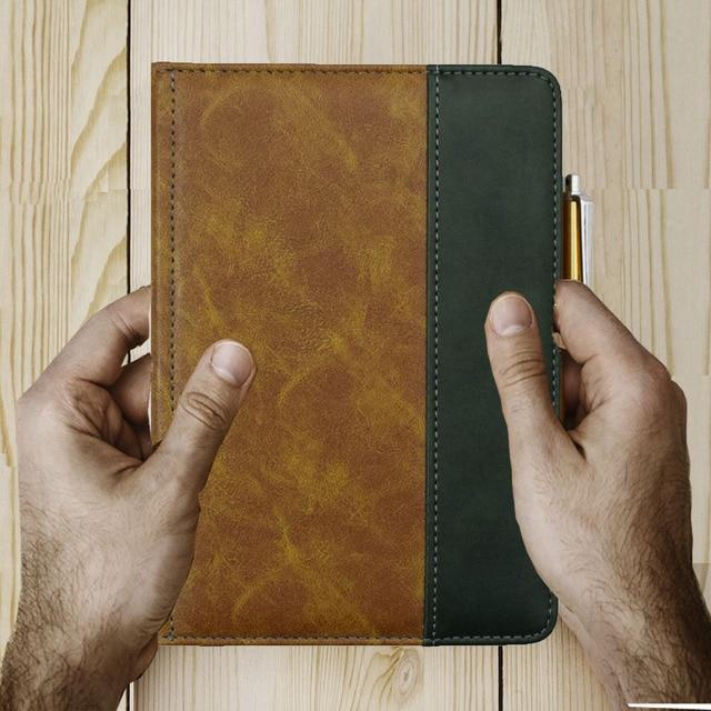 Bonita funda de libro para kindle Touch 2011 modelo 2012, funda protectora de alta calidad para amazon kindle touch D01200