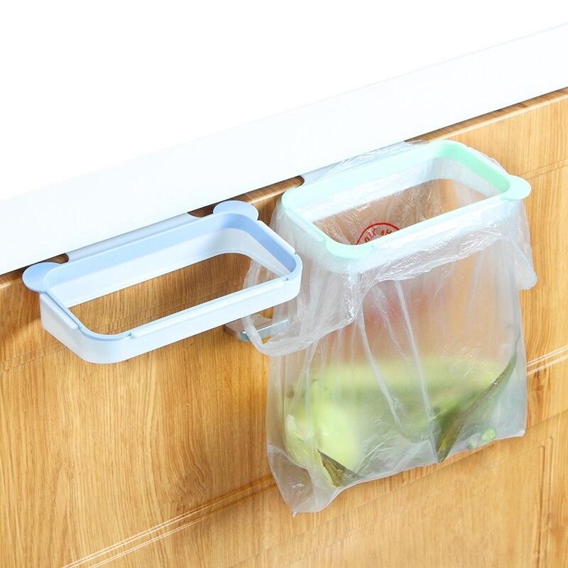 Cute Hanging Cupboard Stand Rack Cabinet Garbage Bags Holder Rack Kitchen Trash Bag Storage Hanger Пижама