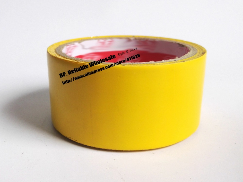 1x 45mm * 18 meters Floor Warning Adhesive Tape /Work Area Caution Tape / Ground Attention Tape Yellow 1pcs 18mm x 5mm single sided self adhesive shockproof sponge foam tape 3 meters