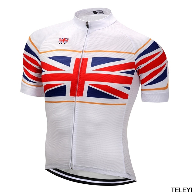 britain Brand Men s Cycling Jersey Summer Quick Dry Bike Bicycle Clothing  Short Sleeve Maillot Ciclismo 7ba79f814