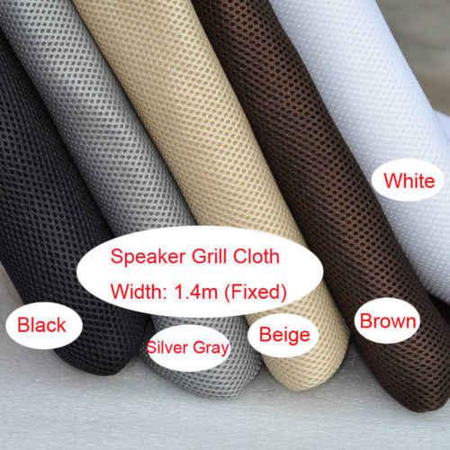 Hoparlör ızgarası Bez Stereo Gille Kumaş Hoparlör file kumaş Toz Önlemek için 1.4x0.5 M