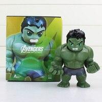 1 Pcs 14 cm A Idade De Ultron Hulk PVC Balançando A Cabeça Brinquedo Figura de Ação Hulk Figuras Brinquedos Presente Bonito