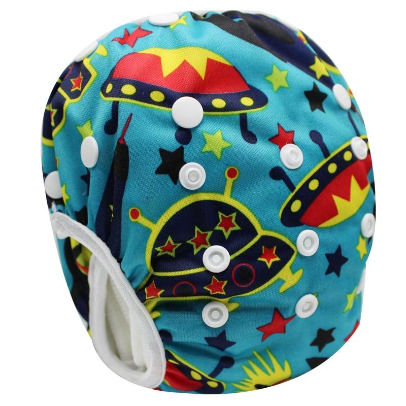 New Infant Swimwear Adjustable One Size Baby Swim Diaper Reusable Baby Swim Pants Swimsuit