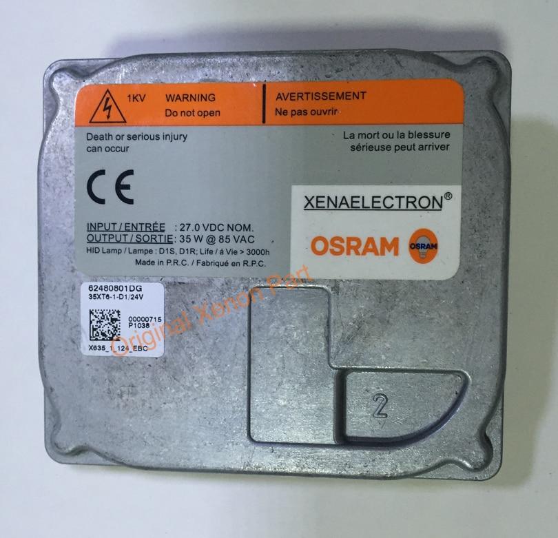 Used OEM D1S D1R HID Xenon Ballast 35XT6 1 D1 24V ballast