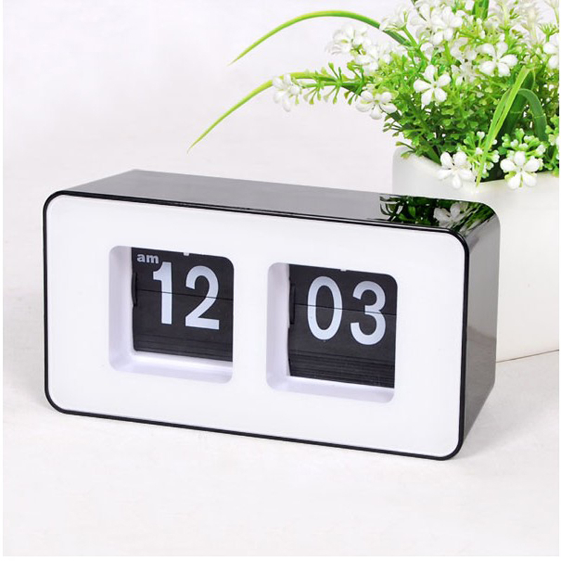 top quality quartz digital alarm clock modern automatic. Black Bedroom Furniture Sets. Home Design Ideas
