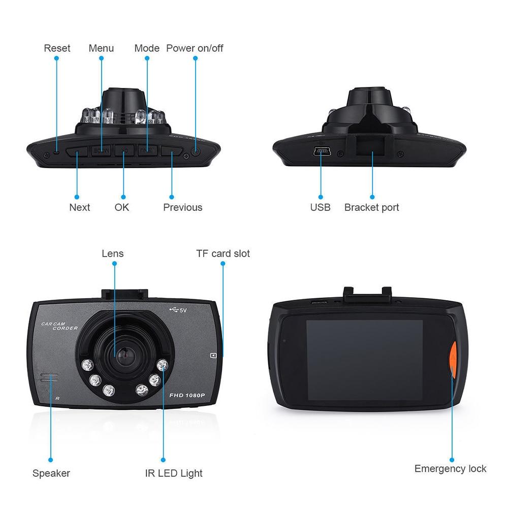 מצלמת DVR לרכב Full HD 1080P   2