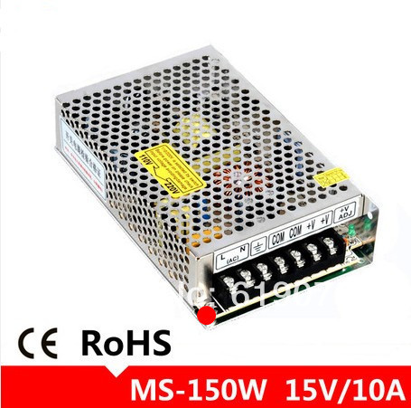 Small size 150W DC15V 10A switching power supply wide voltage DC15V power supply 25w 5v 5a switching power supply dc15v power supply