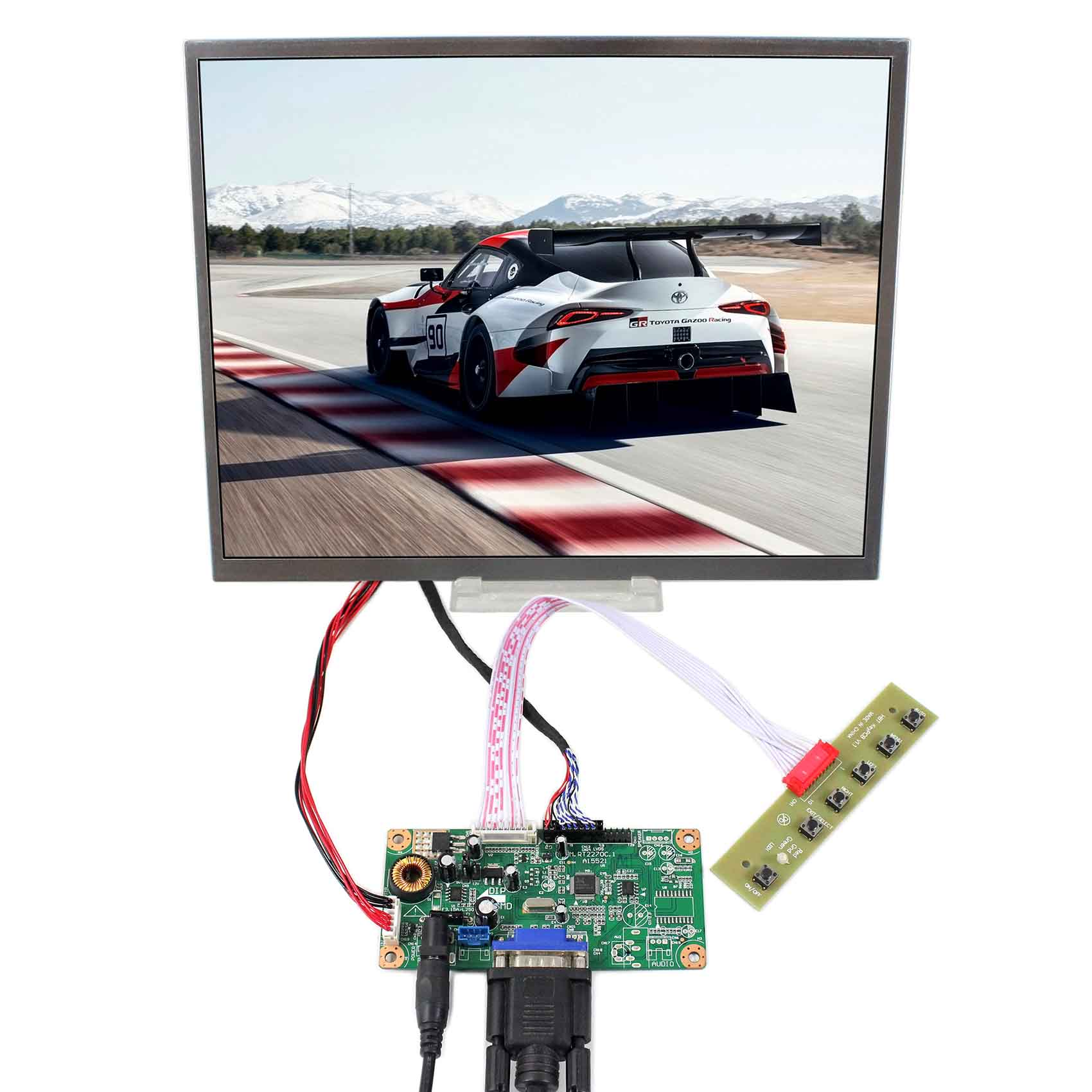 NEW HSD121KXN1-A10 original 12.1 inch 1024×768 LCD Screen Panel