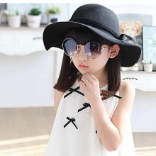 FASHION MODERN Baby Kids Toddler Children Hat Girl Hats Retro Wool Felt hat Sun Beach Cap