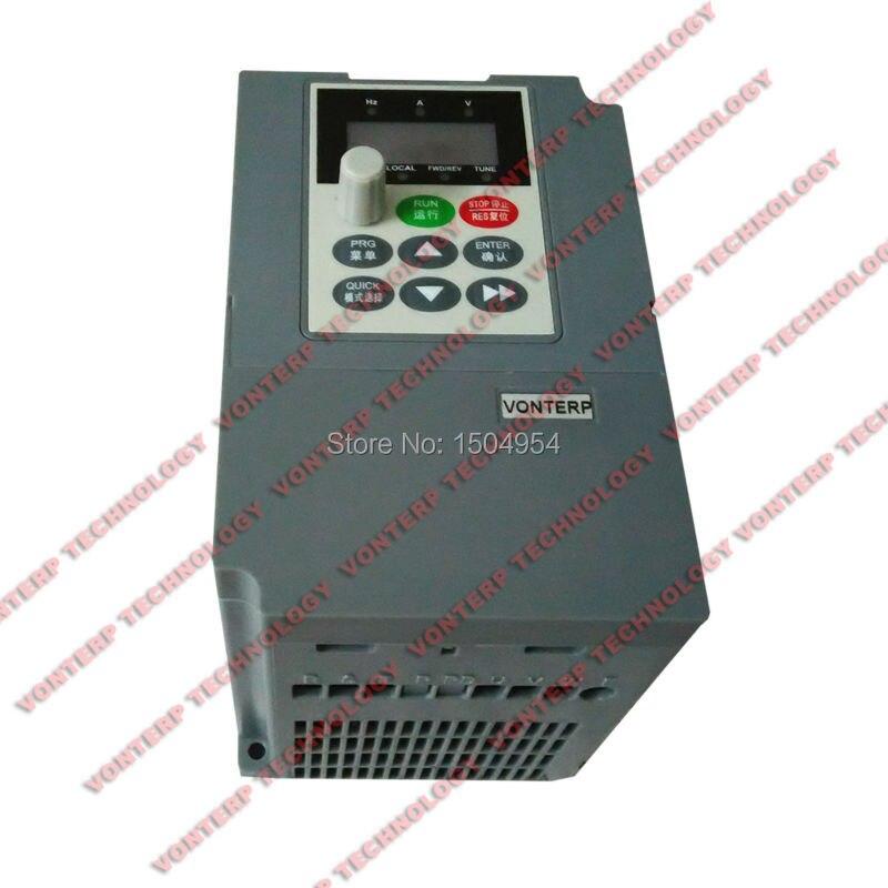 2.2KW 380V 3-Phasen Universal Vector Frequency Drive Inverter Frequenzumrichter