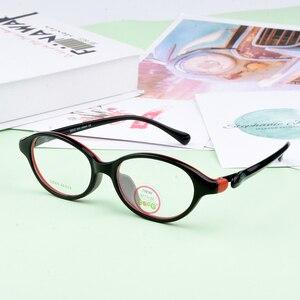 Image 2 - SECG Ultralight เด็กผู้หญิงกรอบแว่นตาสายตาสั้นแว่นตาเด็กกรอบแว่นตานักเรียนแว่นตา