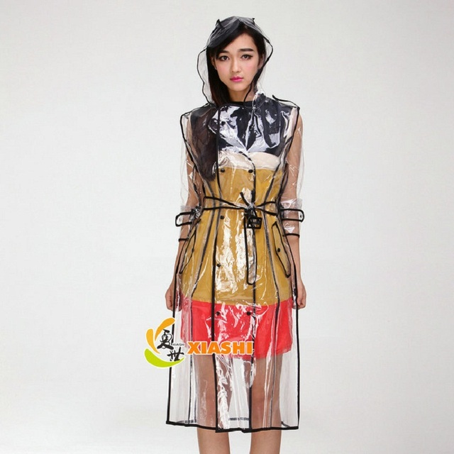 Aliexpress.com : Buy EVA transparent with belt Jacket fashion ...