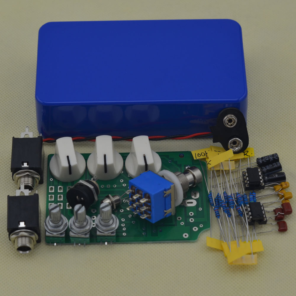 diy overdrive guitar pedal kits with 1590b true bypass electric guitar stompbox pedals od2 kits. Black Bedroom Furniture Sets. Home Design Ideas