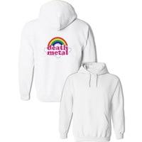 Death Metal Music Heavy Unicorn Rainbow Hoodies Women S Men S Girl S Boy S Sweatshirt