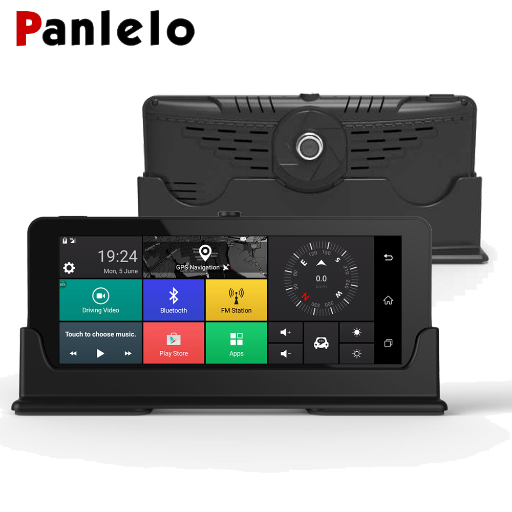 Panlelo Android Navigation 3G 1280*480 6.86 pouces Android GPS avec DVR G-SENSOR FM écran tactile GPS pour Toyota Ipsum pour VW