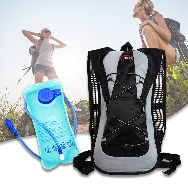 NEW 5 color 2L Multifunctional Durable Ultralight Outdoor Travel Kit cycling Camping Water Bladder Pack Backpack Bag Hydration