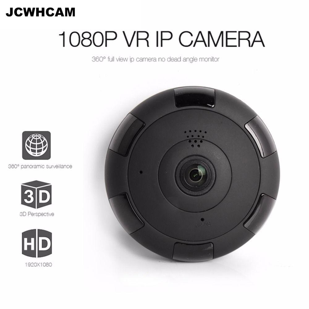 JCWHCAM WIFI IP Camera 360 Fisheye Panoramic Dome Camera 2MP 1080P CCTV Night Vision Video Surveillance Security