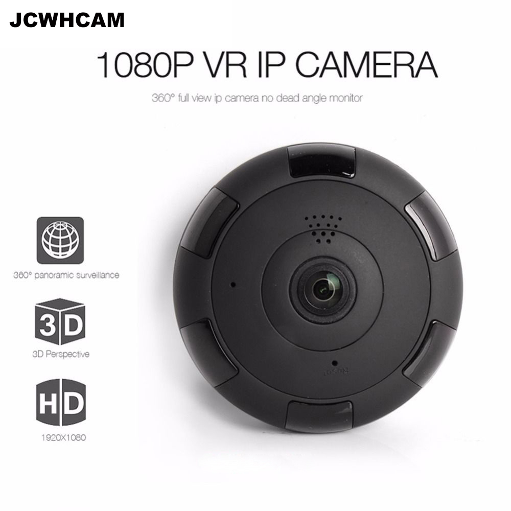 WIFI IP Camera 360 Fisheye Panoramic Dome Camera 1080P CCTV Night Vision Video Surveillance Security Network Camera