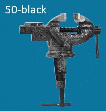 Modèle 50-noir étau de table en acier au carbone banc à vis étau passe-temps pince bijoux à bricoler soi-même travail du bois artisanat moule fixe outil de réparation