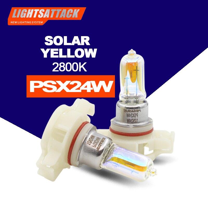 PEGASUS 2800K Car Halogen PSX24W H16(EU) Headlight Auto Headlamp Bulb For Head Light Fog Light
