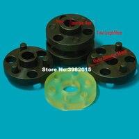 De aço Do Eixo Acoplador Acoplamento para Motor Trifásico Assíncrono OD58 Length50mm para Máquina De Corte Do Fio