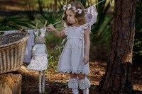 Eleven Story Wholesale Lace Dress For Girls Summer Clothing Children Kids Tutu Sleeveless Wedding Party