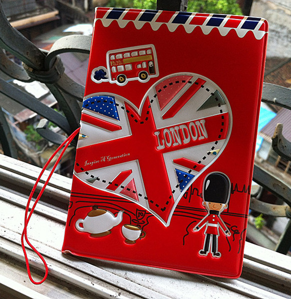 3D PVC&PU cool cartoon passport holders, men travel passport cover,  22 different styles to choose