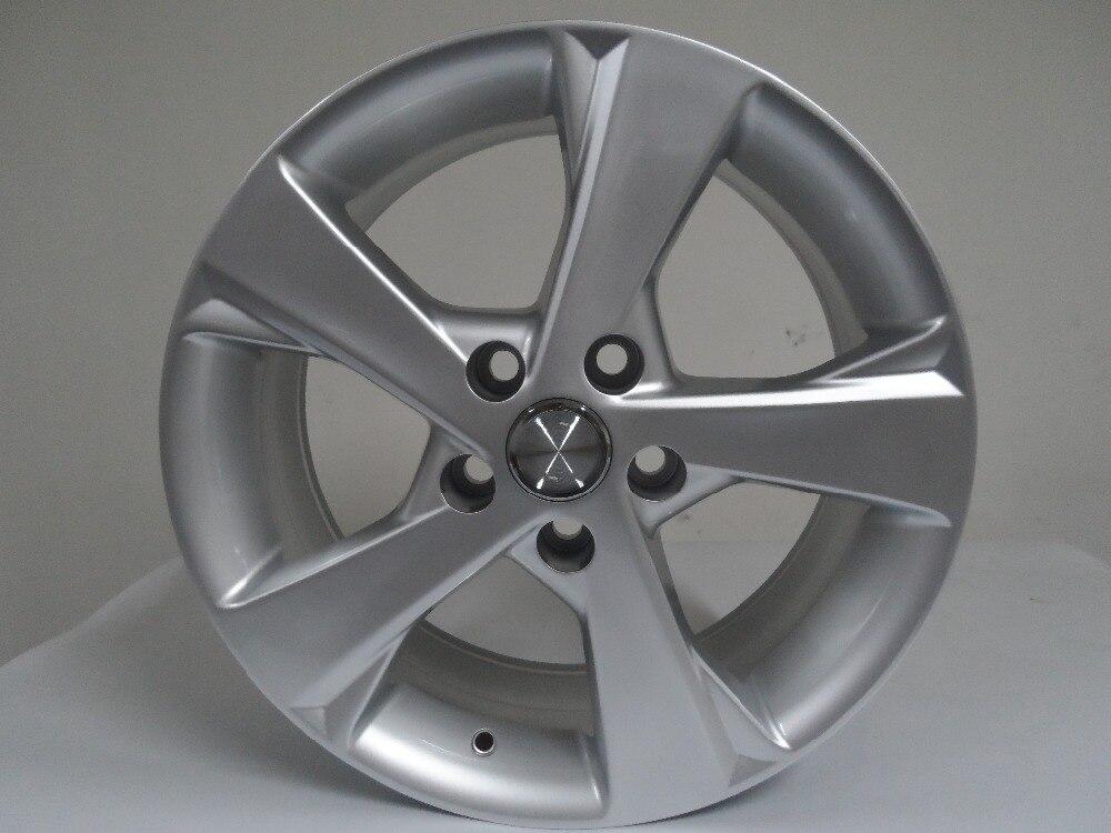 ФОТО High quality! 16x.7.0 et 40 5x100 OEM Hyper Silver alloy wheel rims W201