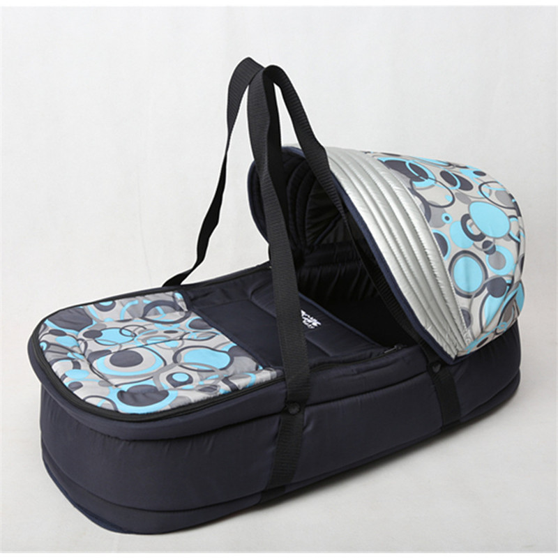 Mode Portable nouveau-né bébé berceau bébé panier doux et confortable lit pour bébé dormir lit de voyage