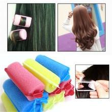 Hair-Curlers-Sponge Sponge-Roll Bendy Large New Pear Color-Random New-Fashion 10pcs/Pack