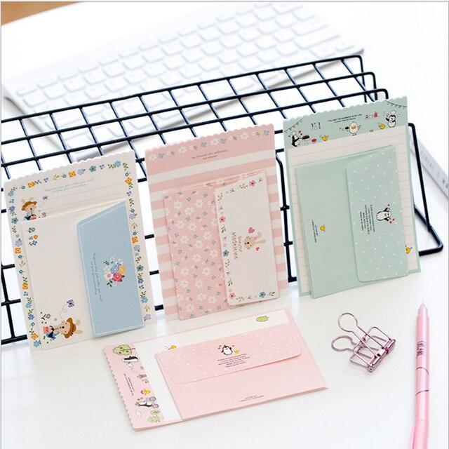 2pcs/lot Mini lovely Letter letterhead small envelope writing paper - birthday letterhead