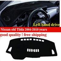 Deska rozdzielcza samochodu obejmuje pad Dla Nissan stare Tiida 2004-2010 lat platformy platforma Instrument biurko Instrumentem pad akcesoria