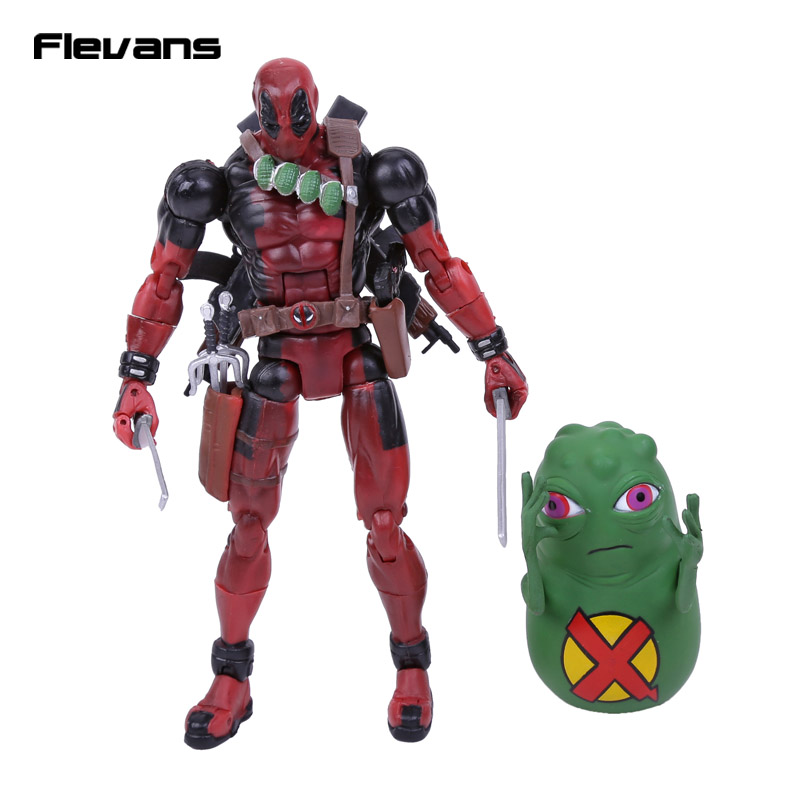 Original Deadpool Action Figure High Quality Marvel Super hero Deadpool PVC  Loose Figure Toy 16cm  marvel deadpool funko pop super hero pvc ow batman action figure toy doll