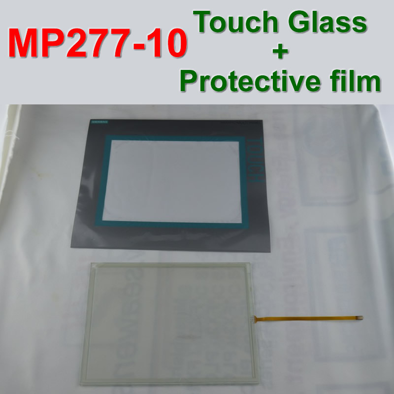 MP277-10 6AV6643-0CD01-1AX0 Touch Panel Glass + Protective film For SIMATIC PANEL 6AV6 643-0CD01-1AX0 Repair,FAST SHIPPING