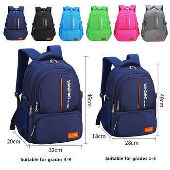 Suitable for grades 1-9 Children Orthopedic School Backpack School bags For boys Waterproof Backpacks Kids satchel Schoolbgs