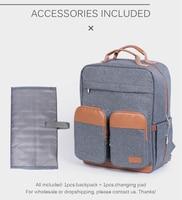 Diaper Bag Backpack for Mom Large Capacity Baby Care Napppy Maternity Bags Kit 2019 Mommy Travel Nursing Bag for Stroller