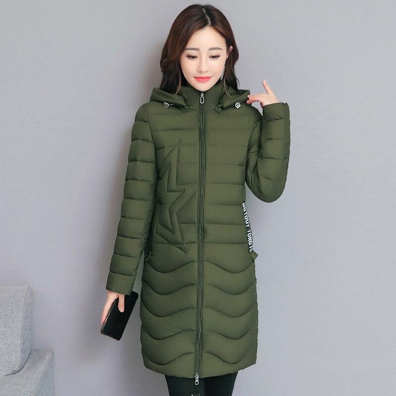 new Female Jacket Large Faux Fur Winter Jacket Women 2018 Warm Thicken Hooded Winter Coat Women Down Cotton Long   Parkas