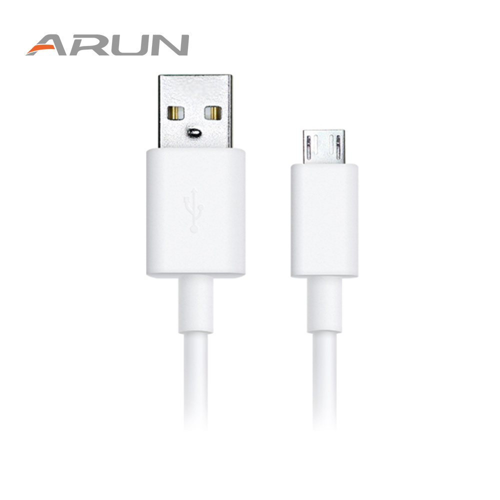 ARUN S21 1.2m Micro USB Cable Fast Charging Data Sync Android USB 2.0 Charger Cable Android for Xiaomi Huawei Samsung